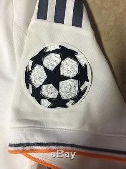 Spain Real Madrid Uefa Ronaldo Formotion Shirt Player Issue Jersey Match Unworn