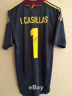 Spain casilllas Real Madrid españa Fc Porto jersey adidas football shirt