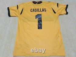 Spain espana Rare Adidas Men's Jersey 1 Iker casillas World Champions 2008