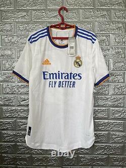 Vini Jr Real Madrid Jersey 2021/22 Home Medium Authentic Soccer Adidas GQ1360
