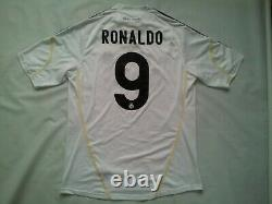 Vintage Adidas Clima365 Climacool Real Madrid #9 Ronaldo In Size L
