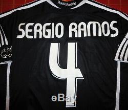 Vtg Adidas Spain Real Madrid Sergio Ramos 2005 Soccer Jersey Football Shirt Rare