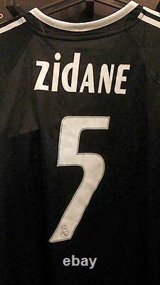 Zidane 2005 Camiseta Shirt Jersey Maillot France Benzema Ronaldo Cristiano Figo