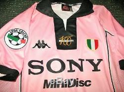 Zidane Juventus 1997 1998 CENTENARY Jersey Shirt Camiseta Maglia Real Madrid M