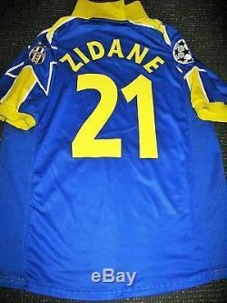 Zidane Juventus 1997 1998 UEFA CENTENARY Jersey Shirt Maglia Real Madrid L