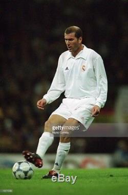 Zidane Real Madrid DEBUT Centenary Jersey Shirt 2001 2002 France Camiseta M
