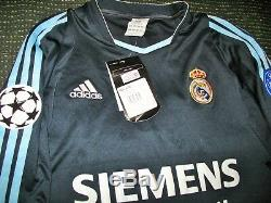 Zidane Real Madrid Jersey 2003 2004 Shirt Camiseta France Maillot BNWT XL