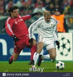 Zidane Real Madrid PLAYER ISSUE UEFA Jersey 2003 2004 Camiseta Shirt France L
