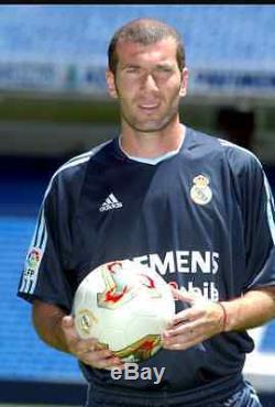 Zidane Real Madrid Shirt Maillot Camiseta Jersey Bale Modric James Ronaldo Raul