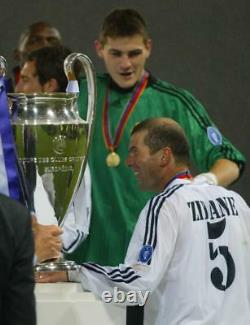 Zinedine Zidane France Signed #5 Real Madrid 2002 Adidas Jersey Shirt+proof Auto