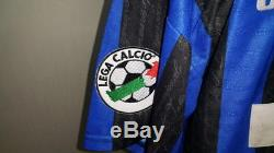 (l) Inter Milan Shirt Jersey Maglia Ronaldo Brazil Barcelona Real Madrid
