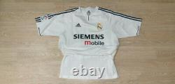 (l) Real Madrid Shirt Jersey Player Issue Double Layer