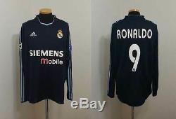 (l) Real Madrid Shirt Ronaldo Brazil Camiseta Barcelona Inter Milan Maglia Italy