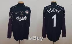 (m) 0405 Liverpool Shirt Jersey England Dudek Poland Istanbul Real Madrid