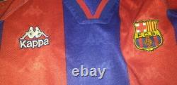 (m) Barcelona Shirt Jersey Ronaldo Real Madrid Inter Milan Brazil Player Issue