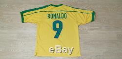(m) Brazil Shirt Jersey Ronaldo Real Madrid Barcelona Ac Milan Inter Italy