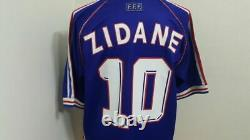 (m) France Shirt Jersey Maillot Zidane Real Madrid Bordeaux Italy Spain