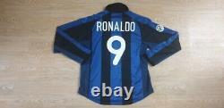 (m) Inter Milan Shirt Jersey Maglia Ronaldo Brazil Barcelona Real Madrid