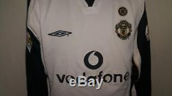 (m) Manchester Beckham Shirt Jersey Maglia Italy England Real Madrid Ac Milan