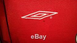 (m) Manchester Shirt Jersey Beckham England Real Madrid Milan La Galaxy