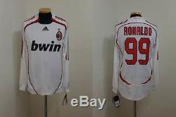 (m) Milan Shirt Jersey Ronaldo Brazil Real Madrid Barcelona Inter Italia Italy
