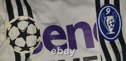 (m) Real Madrid Shirt Jersey Beckham Manchester Home Long Sleeve Ls
