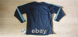(m) Real Madrid Shirt Jersey Player Issue Long Sleeve Double Layer Ls Long