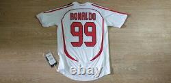 (s) Milan Shirt Jersey Ronaldo Brazil Real Madrid Barcelona Inter Italia Italy